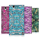 HEAD CASE DESIGNS ABSTRACT ALIEN PATTERNS HARD BACK CASE FOR SONY PHONES 3