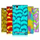HEAD CASE DESIGNS FEATHERS HARD BACK CASE FOR SONY PHONES 3