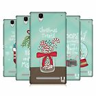 HEAD CASE DESIGNS HOLIDAY CRAZE HARD BACK CASE FOR SONY PHONES 3