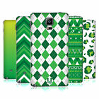 HEAD CASE DESIGNS SAINT PADDYS DAY PATTERNS BATTERY COVER FOR SAMSUNG PHONES 1