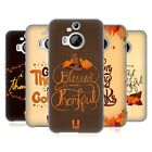 HEAD CASE DESIGNS THANKSGIVING TYPOGRAPHY SOFT GEL CASE FOR HTC PHONES 2