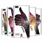 HEAD CASE DESIGNS HAND GESTURE NEBULA SOFT GEL CASE FOR BLACKBERRY PHONES