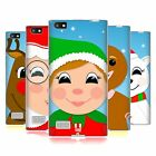HEAD CASE DESIGNS JOLLY CHRISTMAS CHARACTERS SOFT GEL CASE FOR BLACKBERRY PHONES