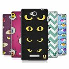 HEAD CASE DESIGNS EYE DOODLES SOFT GEL CASE FOR SONY PHONES 3