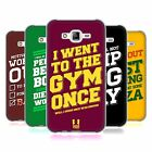 HEAD CASE DESIGNS FUNNY WORKOUT STATEMENTS SOFT GEL CASE FOR SAMSUNG PHONES 3