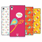 HEAD CASE DESIGNS BIRD PATTERNS SOFT GEL CASE FOR SONY PHONES 2