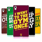 HEAD CASE DESIGNS FUNNY WORKOUT STATEMENTS SOFT GEL CASE FOR SONY PHONES 2