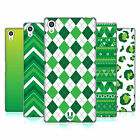 HEAD CASE DESIGNS SAINT PADDYS DAY PATTERNS SOFT GEL CASE FOR SONY PHONES 2