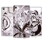 HEAD CASE DESIGNS PEN AND INK SOFT GEL CASE FOR SONY PHONES 2