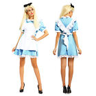 Ladies Alice in Wonderland anime cosplay costume lolita dress maid outfit