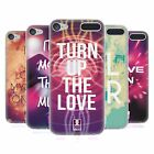 HEAD CASE DESIGNS EDM LOVE SOFT GEL CASE FOR APPLE iPOD TOUCH MP3