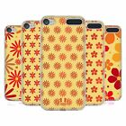 HEAD CASE DESIGNS FLORAL PATTERN SOFT GEL CASE FOR APPLE iPOD TOUCH MP3