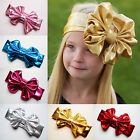 Bowknot Big Bow Children Headwears Hairband Headband Metallic Colors