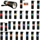 Licensed NFL Football Sports Teams Logos 9x LED  Water Resistant Flashlight $5.57 USD on eBay