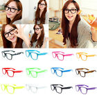 Eyeglasses Frame Black Lady New Clear Lens Glasses Men Fashion Cute 9 Colors