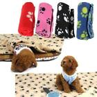 Fashion Paw Print Blanket Pet Dog Puppy Cat Animal Fleece Blankets Beds Mat - CB