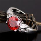 Hot selling wedding silver Fashion cubic zirconia lady's ring size 6-10 jewelry
