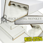 HIGH QUALITY SHELL AND SLIDE FOAM LINED WHITE INSULATED BOXES CARTONS -ALL SIZES
