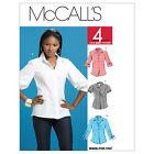McCall's 6035 Out of Print Sewing Pattern to MAKE Fitted Shirt/Blouse cup sizes