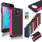 Hybrid Shockproof Protective Rubber Hard Case Cover for Samsung Galaxy J5 / J500
