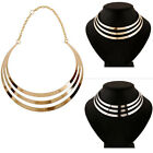 Multilayer Statement Punk Necklace Charm Luxury Party Choker Collar Necklaces TB