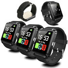 3×pcs U8 Bluetooth Smart Wrist Watch Phone Mate For Android IOS Samsung iPhone
