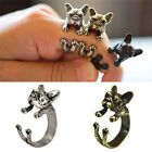 Vitage New French Bulldog Animal Rings Gift Unisex Fashion Jewelry Top Quality T