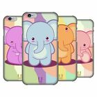 HEAD CASE DESIGNS BABY ELEPHANTS HARD BACK CASE FOR APPLE iPHONE PHONES