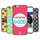 HEAD CASE DESIGNS POSITIVE VIBES SERIES 2 HARD BACK CASE FOR APPLE iPHONE PHONES