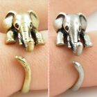 Vintage Animal Wrap Rings Chic Elephant Knuckle Ring Vintage Finger Rings AUGT