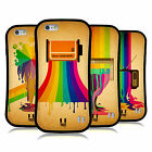 HEAD CASE DESIGNS COLOUR DRIPS HYBRID CASE FOR APPLE & SAMSUNG PHONES