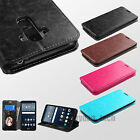 For LG G Stylo LS770 H631 Vista 2 H740 Credit Card Leather Wallet Case Cover