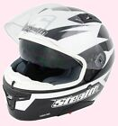 HD117 Blk Stealth Motorcycle Full Face Carbon Kevlar Helmet with Sun Visor
