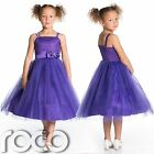 Girls Purple Dress, Bridesmaid Dresses, Girls Party Dress, Girls Wedding Dresses
