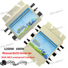 600W 1200W 220V Wechselrichter Waterproof Grid Tie Inverter suitable solar panel