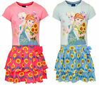 DISNEY FROZEN GIRLS DRESS SHORT SLEEVE 2--8 YEARS BNWT