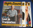 SIGHT & SOUND MAGAZINES VARIOUS ISSUES 2000 - 2001 - 2002 - 2003 - 2004