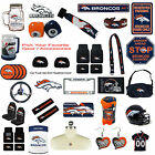 New NFL Denver Broncos Pick Your Gear / Automotive Accessories Official Licensed $7.34 USD on eBay