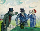 Art Prints on Canvas The Drinkers Vincent van Gogh Giclee Painting Reproduction