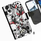 SKULL STICKERBOMB COLLAGE PHONE CASE cover for iPhone Samsung Sony Blackberry