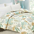 NEW UNDER THE SEA SHELL HORSE CORAL COMFORTER QUILT BEDROOM FULL QUEEN KING SIZE
