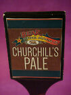 BEER Wood Tap Handle: BEAR REPUBLIC Churchill's Pale Ale, Red Rocket; CALIFORNIA