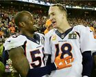 Von Miller Peyton Manning Denver Broncos Super Bowl 50 Photo SS192 (Select Size)