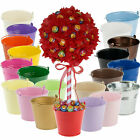 Large Deluxe Sweet/Candy Tree DIY Kit! - 120mm Ball, Large Bucket - 20 Colours!