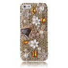 iPhone 5/5s Case Cute Bling Crystal Sparkly Rhinestone Cover for Girls & Women