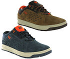 Mens Caterpillar Distill Lo Leather Suede Lace Casual Sneaker Trainer Skate Shoe
