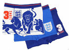 """Older Boys England Trunk Style Underwear  Boxer 28"""" 30"""" 32""""  3 Pairs RRP £9.00"""
