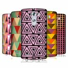 HEAD CASE DESIGNS TRIANGLES HARD BACK CASE FOR LG G3