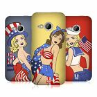 HEAD CASE DESIGNS AMERICA'S SWEETHEART USA HARD BACK CASE FOR HTC ONE MINI 2