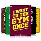 HEAD CASE DESIGNS FUNNY WORKOUT STATEMENTS HARD BACK CASE FOR APPLE iPAD AIR 2